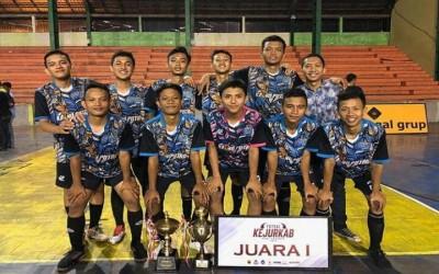 FUTSAL-JUARA 1 KEJURKAB KABUPATEN SRAGEN 2019 CHAMPIONS